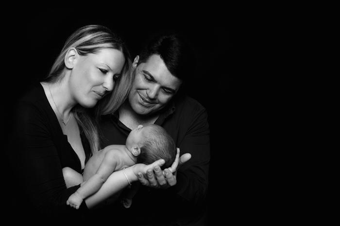 fotografa neonati Roma, foto di famiglia
