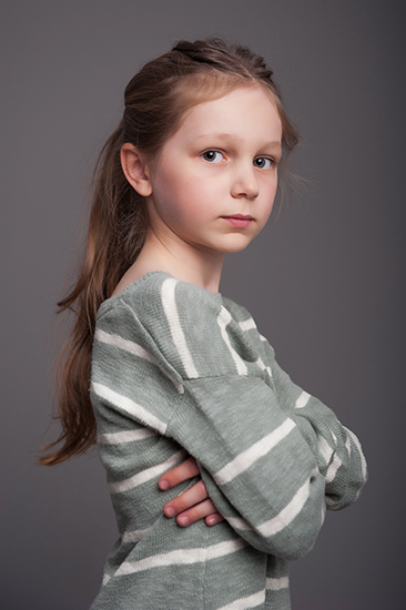 Fine art child portrait