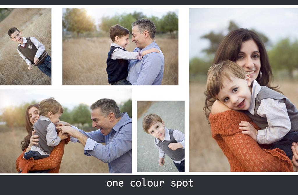 spring family photo shoot