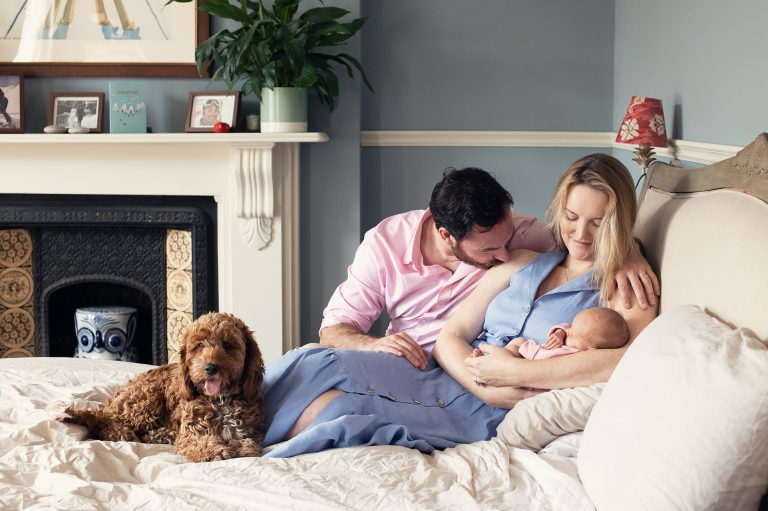 Newborn Lifestyle Photography at your home